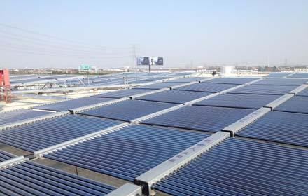 学校部队医院太阳能热水系统找江苏欧贝