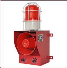 YS-05C天车防撞声光报警器 工业一体化声光报警器