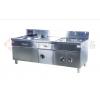 商用电磁灶系列:LONPON隆邦:西式电磁单小炒带水池带柜灶