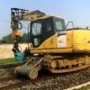 挖掘机加装轨道行走轮 自动刹车装置 50-200T挖掘机配套