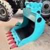 颚式破碎斗挖机移动粉碎铲斗 进口粉碎斗 可调节破碎筛分斗