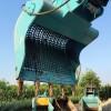 挖掘机破碎头液压30吨鄂式破碎斗 青石筛分液压破碎斗